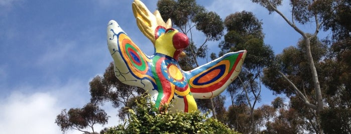 Sun God Statue is one of San Diego must see/do.