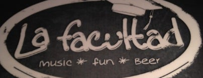 La Facultad Bar is one of Bares.