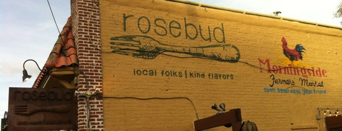 Rosebud is one of Atlanta bucket list.