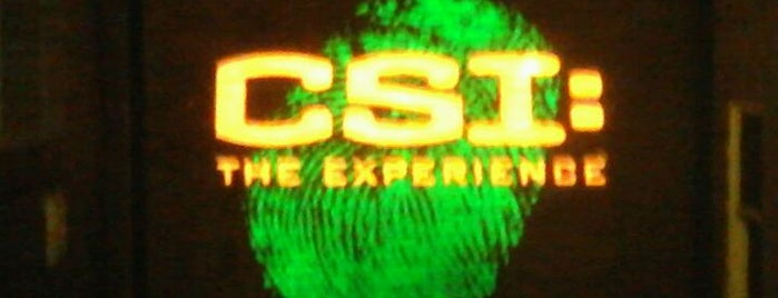 CSI: The Experience is one of Las Vegas, NV.