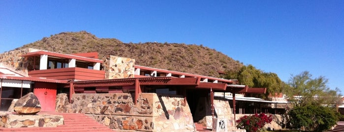 Taliesin West is one of US Landmarks.