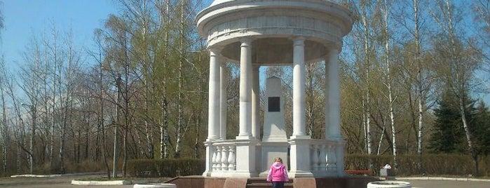 Винновская роща is one of Lugares favoritos de Анастасия.