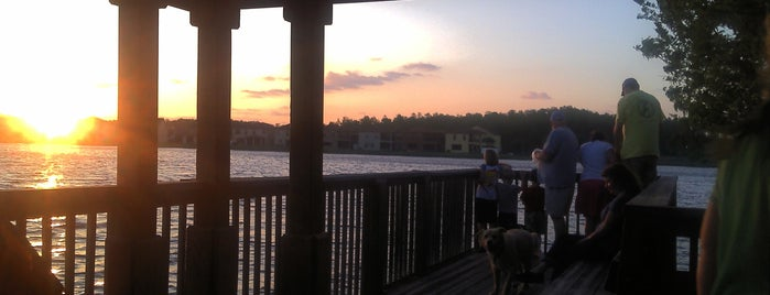 East Park Lake Dock is one of Lugares favoritos de barbee.