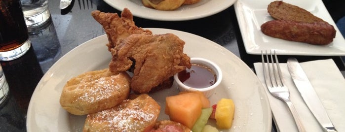 Melba's American Comfort Food is one of Soul Food.