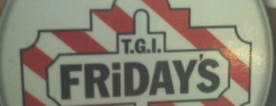 TGI Fridays is one of Orte, die David gefallen.