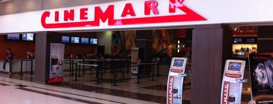 Cinemark is one of Lieux sauvegardés par Carlos.