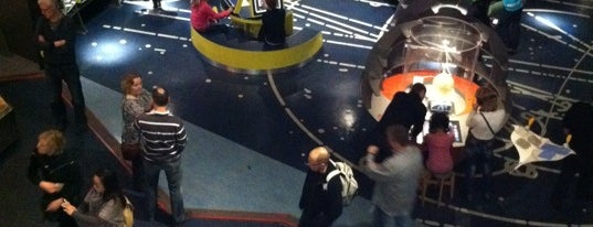 NEMO Science Museum is one of Top 10 Attractions in Amsterdam.