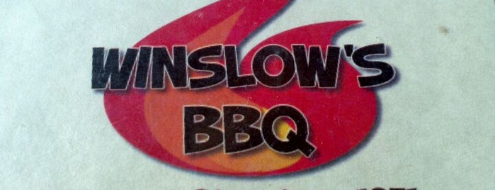 Winslow's BBQ is one of Kansas/KC.
