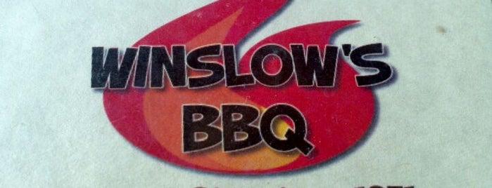 Winslow's BBQ is one of KC Restaurants.