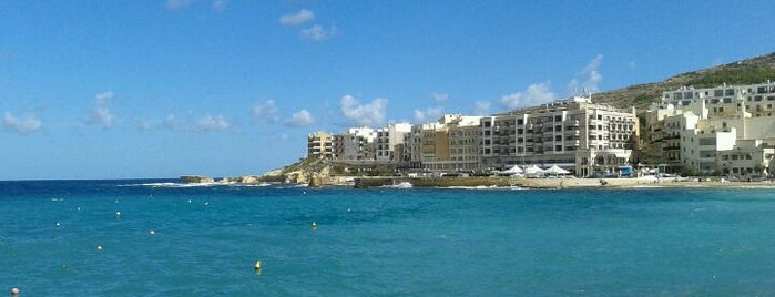 Marsalforn Bay is one of Malta.