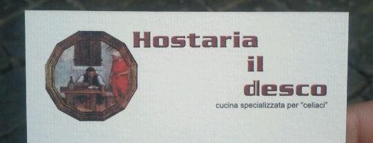Hostaria Il Desco is one of Firenze.