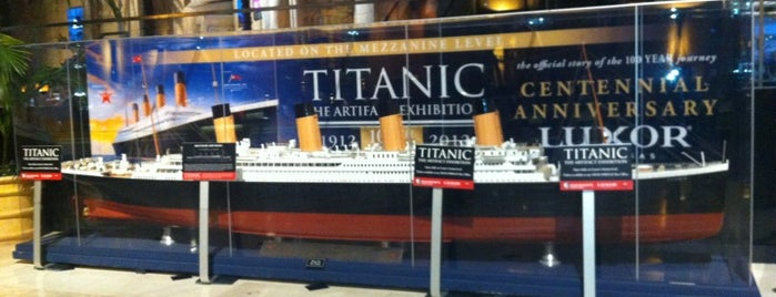 Titanic: The Artifact Exhibition is one of Las Vegas All Badges.