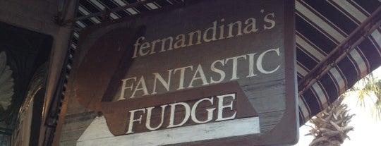 Fernandina's Fantastic Fudge is one of สถานที่ที่บันทึกไว้ของ G.
