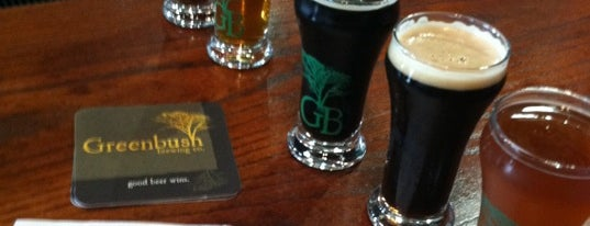 Greenbush Brewing Company is one of Michigan Breweries.