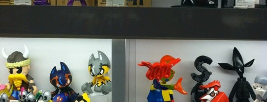 KIDROBOT is one of Nerdy and Artsy Places that Rock!.