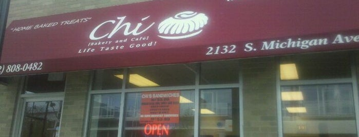 Chi Bakery and Cafe is one of Must-visit Cafés in Chicago.