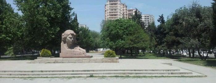 Ayna Sultanova parkı is one of Bakü.