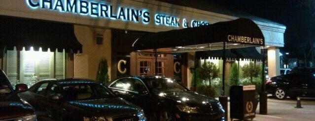 Chamberlain's Steak & Chop House is one of Restaurants that spoil....