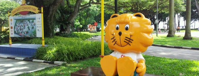 """Road Safety Community Park is one of TPD """"The Perfect Day"""" Singapore (1x0)."""