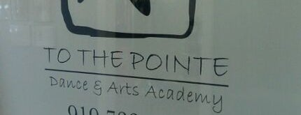 To The Pointe Dance & Arts Academy is one of สถานที่ที่ Cindy ถูกใจ.