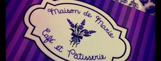 Maison de Marie - Café et Pâtisserie is one of Comidinha.