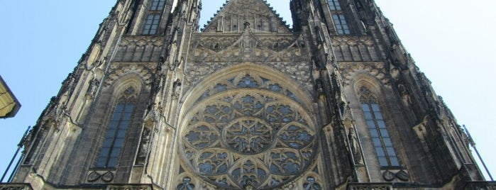 Cattedrale di San Vito is one of StorefrontSticker #4sqCities: Prague.
