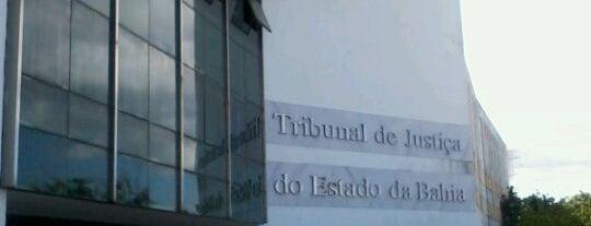 Tribunal de Justiça do Estado da Bahia (TJBA) is one of Marcos's Liked Places.
