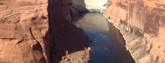 Glen Canyon Dam is one of SF und Arizona.