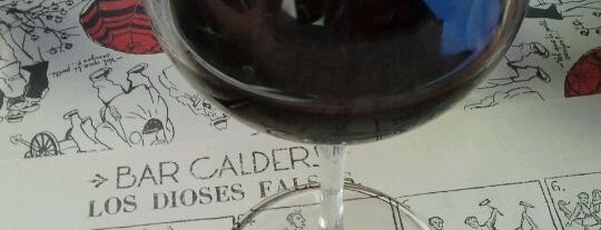 "Bar Calders is one of Mr Caulfield says: ""Estilo indie Barcelona""."