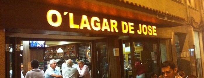 O' Lagar De José is one of Locais curtidos por David.