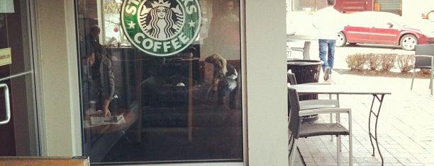 Starbucks is one of Orte, die Julie gefallen.
