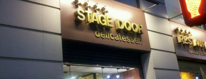 Stage Door Delicatessen is one of Near work.