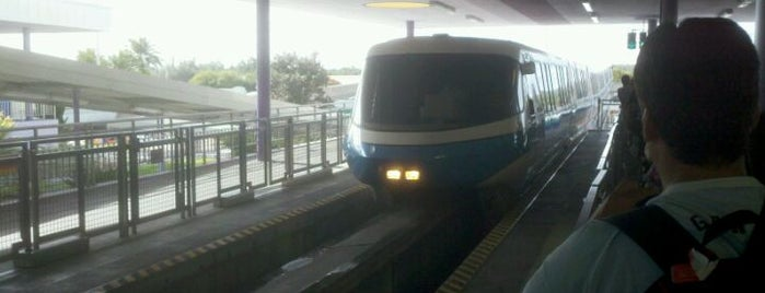 Monorail Blue is one of Transportation & Misc Disney World Venues.
