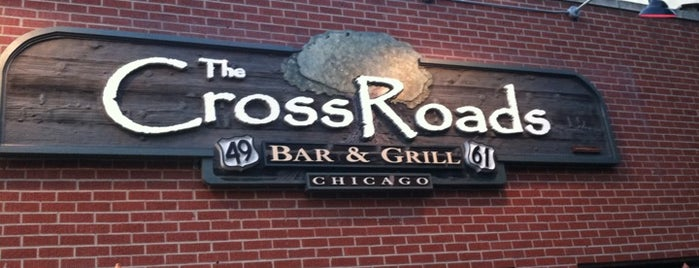 The Crossroads Bar & Grill is one of Tempat yang Disukai Brittany.