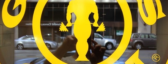 Gold's Gym is one of 416 Tips on 4sqDay Challenge - Dwayne List 1.