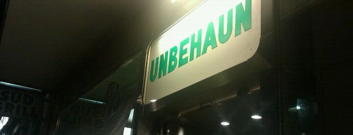 Unbehaun Eiscafé is one of Düsseldorf beloved.