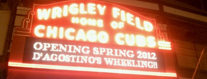 Wrigley Field is one of Stadiums Visited.