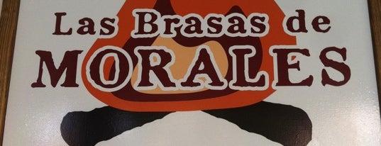 Las Brasas de Morales is one of สถานที่ที่บันทึกไว้ของ Jaime.