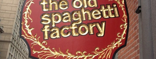 The Old Spaghetti Factory is one of Food & Drink.