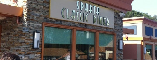 Sparta Classic Diner is one of Lizzie 님이 저장한 장소.