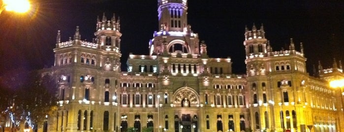 Palacio de Cibeles is one of Marian: сохраненные места.