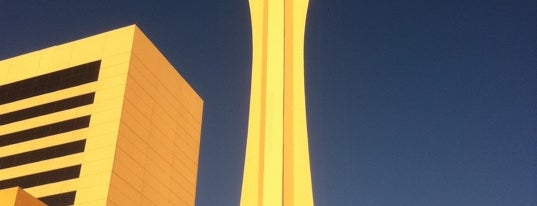 The STRAT Hotel, Casino and Skypod is one of Vegas Death March.