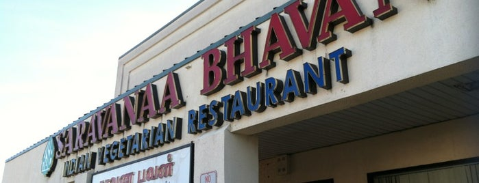 Saravanaa Bhavan is one of Lugares guardados de Lizzie.