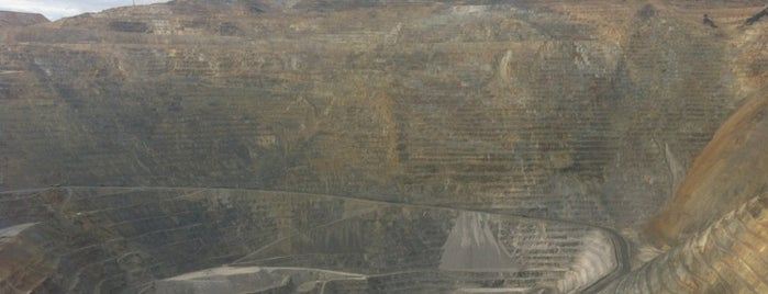KUC Bingham Canyon Mine is one of Crazy Places.