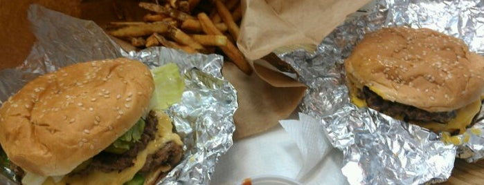 Five Guys is one of Delicious Food.