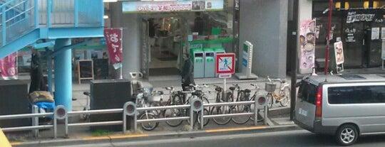 FamilyMart is one of Tokyo・Kanda・Kudanshita.