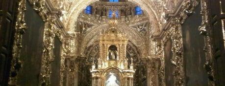 Templo de Santo Domingo is one of Para el desestrés en Puebla.