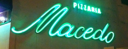 Pizzaria Macedo is one of Tempat yang Disimpan Nelson.
