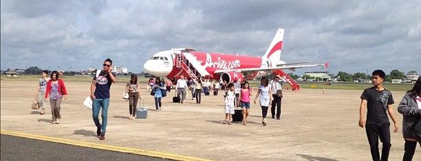 ท่าอากาศยานนานาชาติอุบลราชธานี (UBP) is one of AIRPORT.