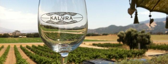 Kalyra Winery is one of Santa Barbara.